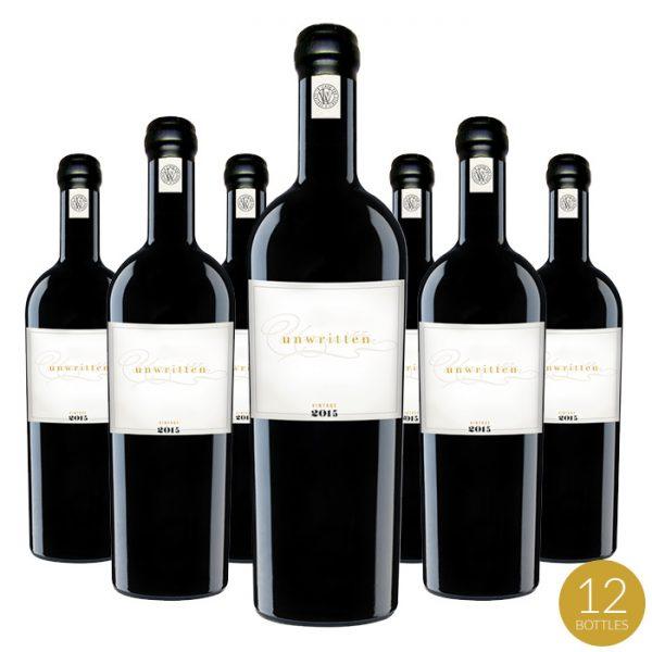 2015 Unwritten 12-Bottle Case